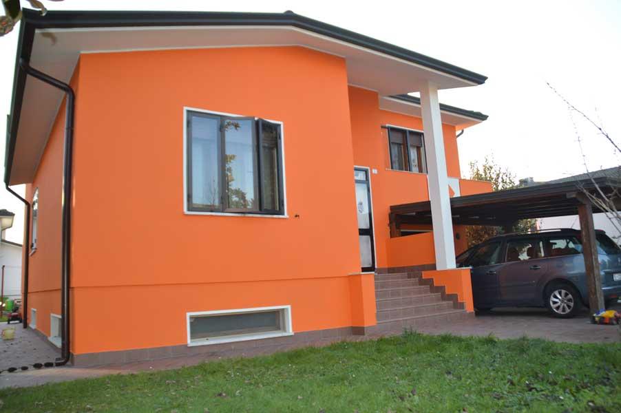Casa residenziale gaiba colorificio farp - Come scegliere il colore esterno della casa ...