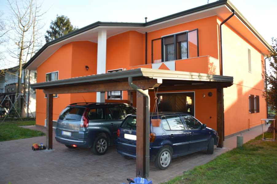 Colore Muri Esterni Casa : Casa residenziale gaiba colorificio farp