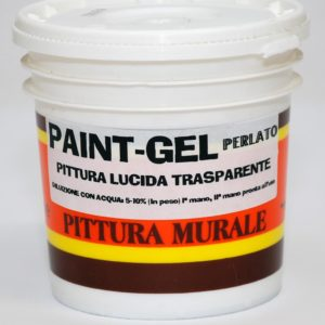 Paint GEL Lucido Perlato per Interni